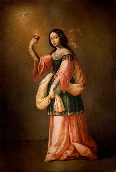 Francisco de Zurbaran, Allegory of Charity, 1655