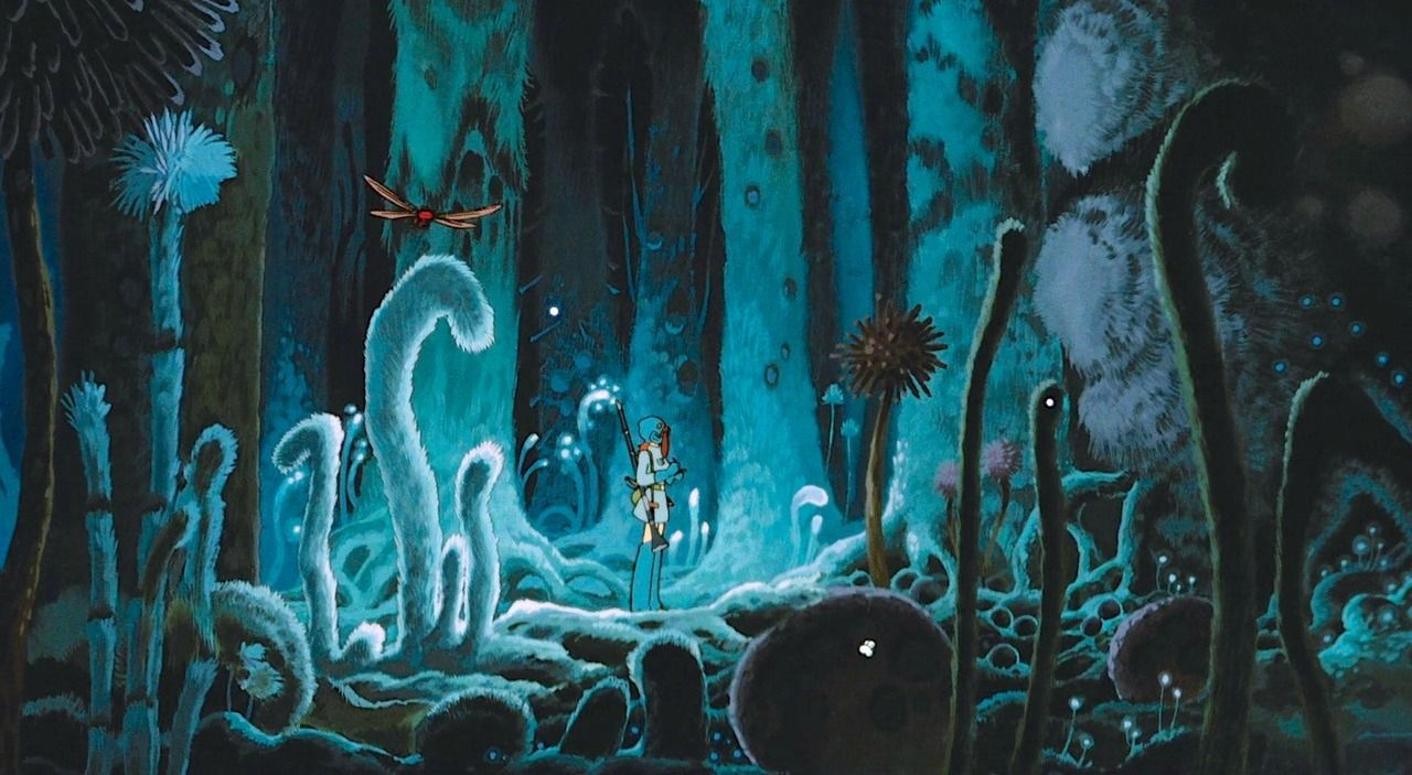 """Other-worldly Environmentalism in Miyazaki's """"Nausicaä of the Valley of the  Wind"""" – Vigour of Film Lines"""